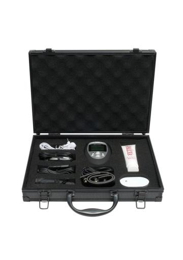 Набор для электростимуляции эрогенных зон  Deluxe Shock Therapy Travel Kit