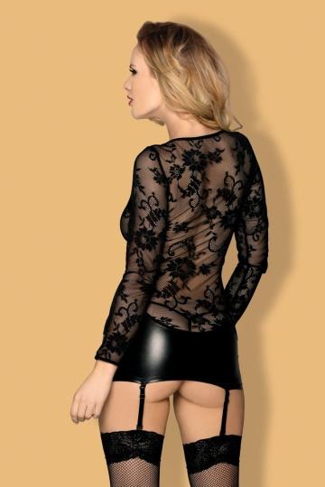 Коротенькое платье с пажами Livia