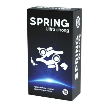 Ультрапрочные презервативы SPRING ULTRA STRONG - 12 шт.