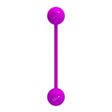 Лиловые вагинальные шарики KEGEL BALL III