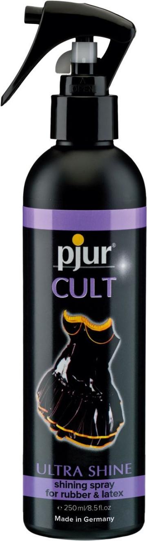Спрей для ухода за одеждой из латекса pjur CULT Ultra Shine - 250 мл.