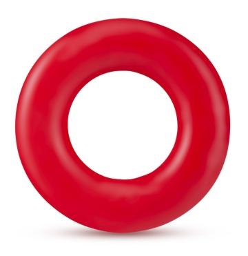 Набор из 2 красных эрекционных колец Stay Hard Donut Rings