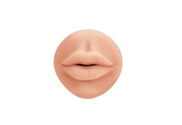 Телесный мастурбатор-ротик Sweet Lips
