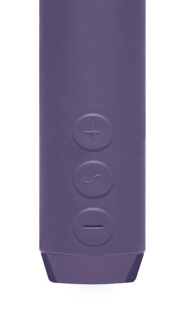 Фиолетовый мини-вибратор G-Spot Bullet - 11,4 см.