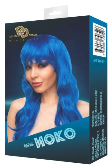 """Синий парик """"Иоко"""""""
