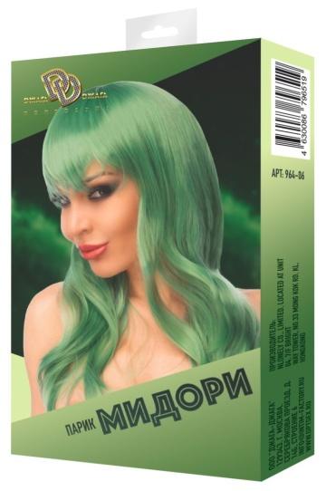 "Зеленый парик ""Мидори"""