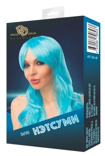 """Голубой парик """"Нэтсуми"""""""