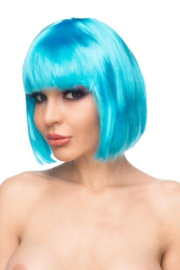 "Голубой парик ""Сора"""