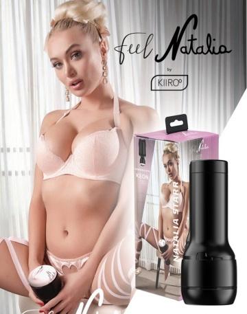 Телесный мастурбатор FeelStar Stroker Natalia Starr