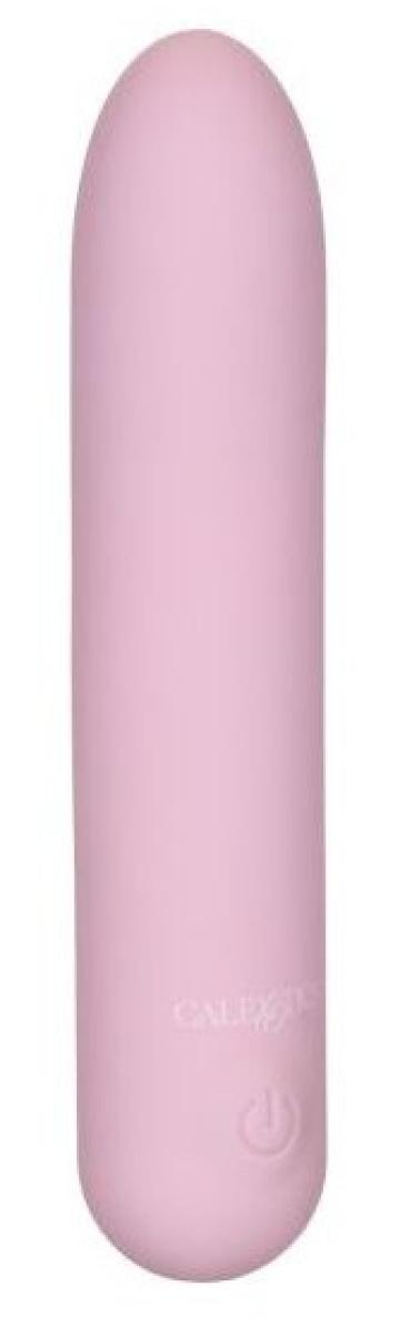 Розовый гибкий мини-вибратор #CharmMe - 9,5 см.