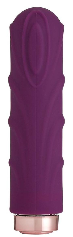 Фиолетовая вибропуля Love Sexy Silky Touch Vibrator - 9,4 см.