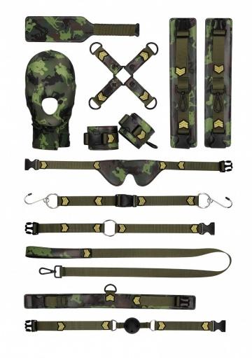 Армейский BDSM-набор Army Bondage