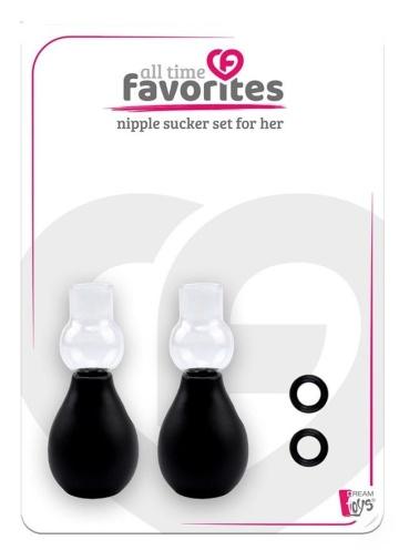 Вакуумные помпы на соски для женщин NIPPLE SUCKER SET