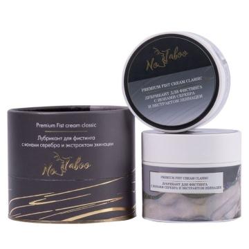 Крем-лубрикант для фистинга с ионами серебра и экстрактом эхинацеи No Taboo Premium Fist Cream Classic - 200 мл.