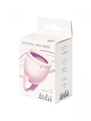Сиреневая менструальная чаша Orchid - 20 мл.