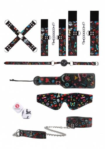 Эротический набор Tattoo Style Bondage Kit