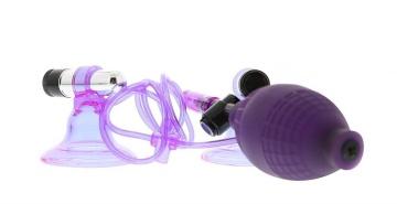 Вакуумные стимуляторы на соски с вибрацией Hi-Beam
