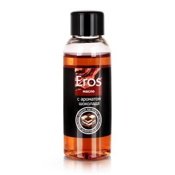 Масло массажное Eros tasty с ароматом шоколада - 50 мл.