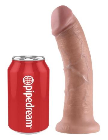 """Реалистичный фаллоимитатор 8"""" Cock на присоске - 20,3 см."""