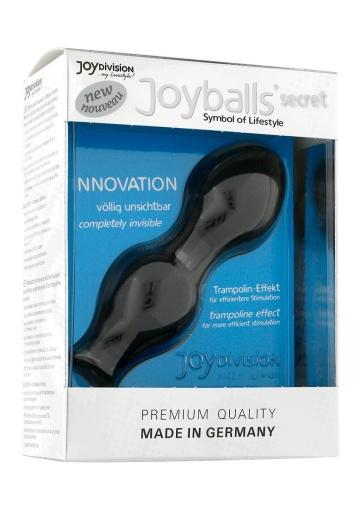 Чёрные вагинальные шарики Joyballs Secret