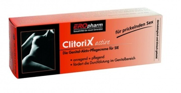 Возбуждающий крем для женщин ClitoriX active - 40 мл.