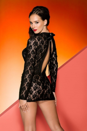 Кружевное платье Rayen с длинными рукавами