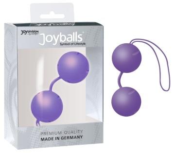Фиолетовые вагинальные шарики Joyballs Trend