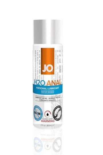 Анальный согревающий лубрикант на водной основе JO Anal H2O Warming - 60 мл.