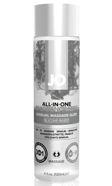 Массажный гель ALL-IN-ONE Massage Oil Sensual нейтральный - 120 мл.