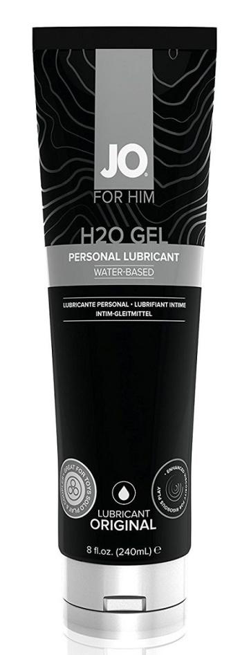 Лубрикант-гель для мужчин JO H2O GEL ORIGINAL - 240 мл.