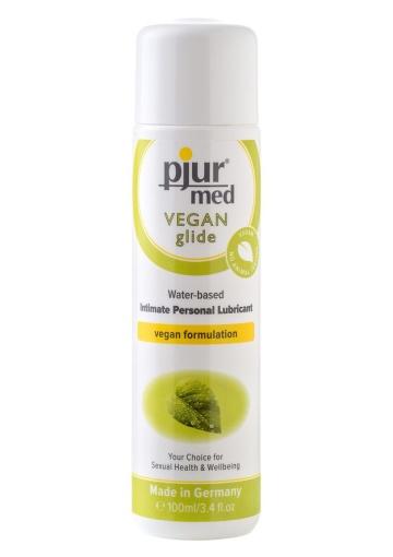 Натуральный лубрикант pjur MED Vegan Gilde - 100 мл.