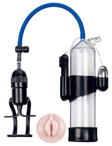 Вакуумная помпа Eroticon PUMP X7 с мини-вагиной и вибрацией