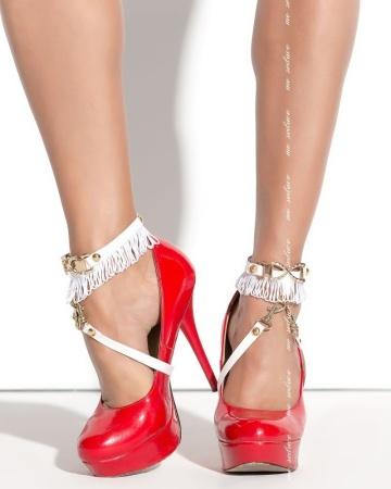 Украшение на ноги под обувь Queen of hearts Arabesque