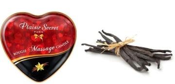 Массажная свеча с ароматом ванили Bougie Massage Candle - 35 мл.