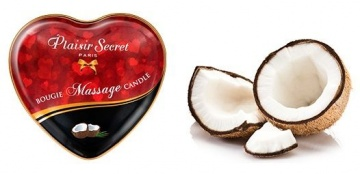 Массажная свеча с ароматом кокоса Bougie Massage Candle - 35 мл.