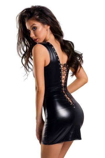 Элегантное платье Michelle с заклепками
